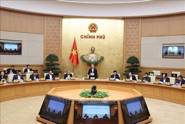 越南政府11月份例行会议决议 hinh anh 1