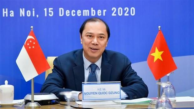 新加坡与越南拟从2021年开通绿色通道 hinh anh 1