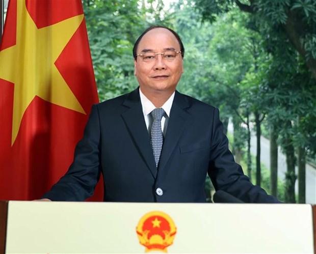 阮春福在《经济合作与发展组织公约》签署60周年纪念活动上发表视频致辞 hinh anh 1
