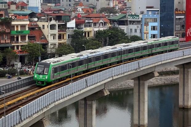 河内轻轨吉灵—河东线的13列车获得检验证书 hinh anh 1