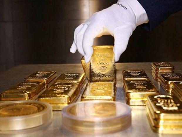 17日越南国内市场黄金价格每两上涨10万越盾 hinh anh 1