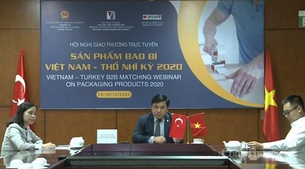 越南企业与土耳其企业加强在包装生产领域上的合作 hinh anh 1