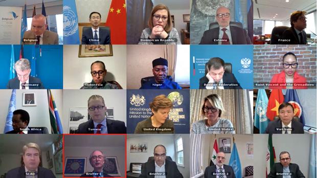 越南与联合国安理会:越南呼吁有关各方在叙利亚问题上加强对话 hinh anh 1