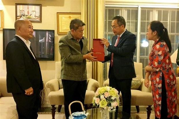 旅居泰国越南人社群为进一步推进越南与泰国战略伙伴关系作出贡献 hinh anh 2