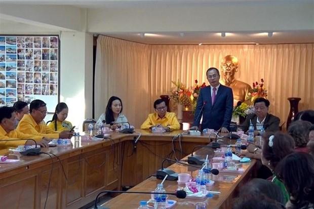 旅居泰国越南人社群为进一步推进越南与泰国战略伙伴关系作出贡献 hinh anh 1