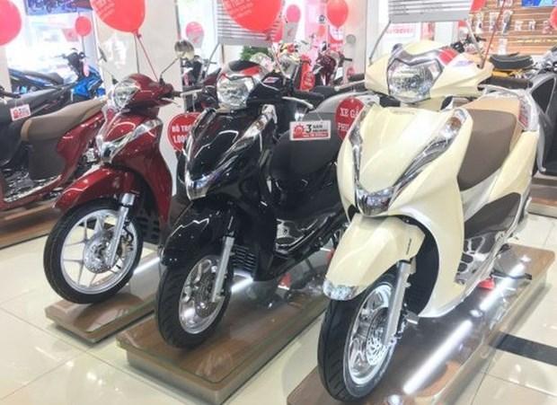 越南本田摩托车和汽车销量分别增长7%和16% hinh anh 1
