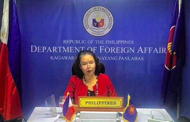 菲律宾呼吁东盟维持UNCLOS并加速COC谈判 hinh anh 1