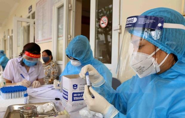 新冠肺炎疫情:今日新增1例境外输入病例 来自土耳其 hinh anh 1