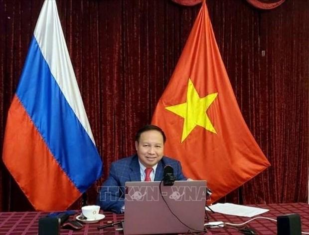 迎接党的十三:关于越南作用的国际研讨会在俄罗斯举行 hinh anh 1