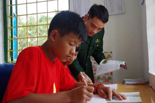 莱州省培养少数民族后代的苗圃 hinh anh 2
