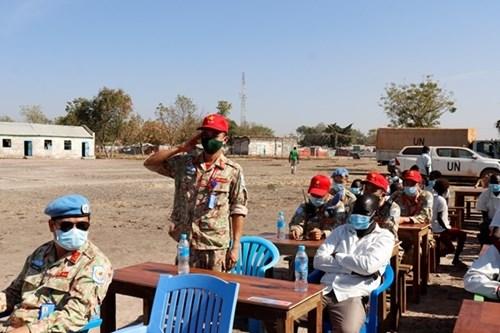 来自在南苏丹执行任务的越南野战医院之特殊礼物 hinh anh 5
