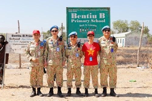 来自在南苏丹执行任务的越南野战医院之特殊礼物 hinh anh 6