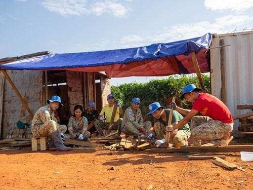 来自在南苏丹执行任务的越南野战医院之特殊礼物 hinh anh 8