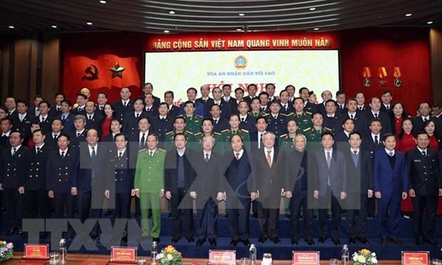 """政府总理阮春福:力争将法院建设成为""""保护正义的城堡"""" hinh anh 3"""