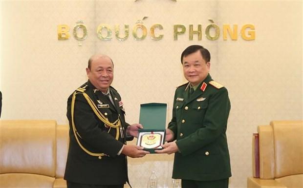 越南与柬埔寨加强防务合作 hinh anh 2