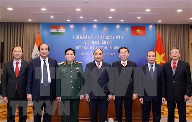 印越伙伴关系为维护地区和平稳定做出贡献 hinh anh 1