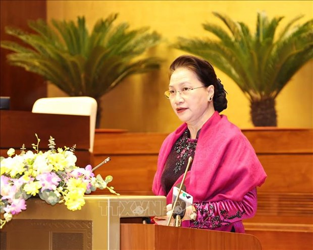 国会主席阮氏金银:越南国会为AIPA做出许多重要贡献 hinh anh 1