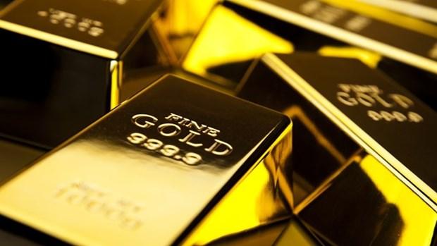 23日越南国内市场黄金价格在5500万越盾以上 hinh anh 1
