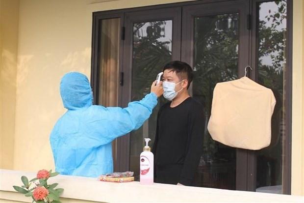 越南新增12例境外输入新冠肺炎确诊病例 hinh anh 1