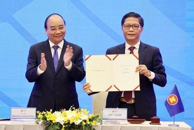 越通社评选2020年越南十大经济事件 hinh anh 2