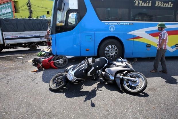 今年12月全国交通事故死亡人数652人 hinh anh 1
