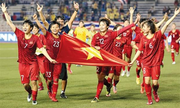 越南女足有望打进2023年世界杯决赛 hinh anh 1