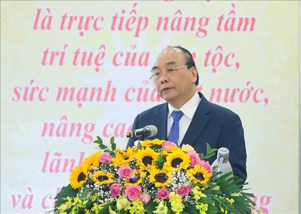 阮春福总理:科学技术须成为现代生产力发展的最重要动力 hinh anh 1