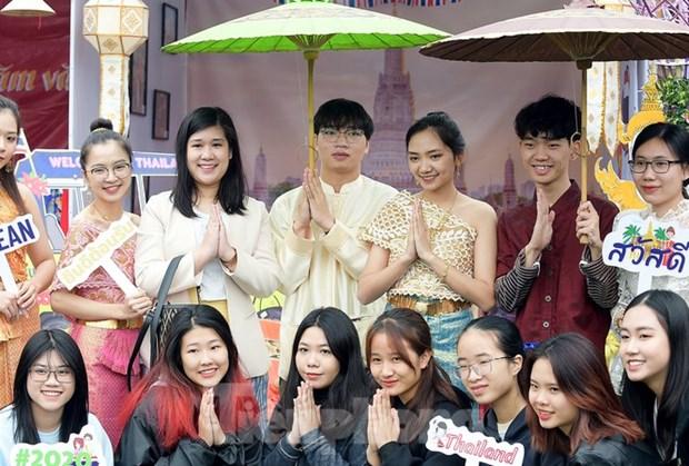2020年越南-东盟青年日活动正式开幕 hinh anh 1