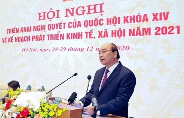 政府总理阮春福:越南在许多领域上完全可以走在前茅 hinh anh 1