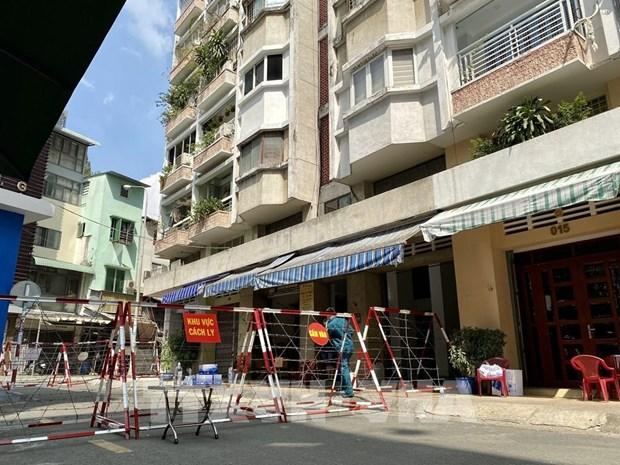 胡志明市找到同第1440例和第1451例非法入境的男子 hinh anh 1