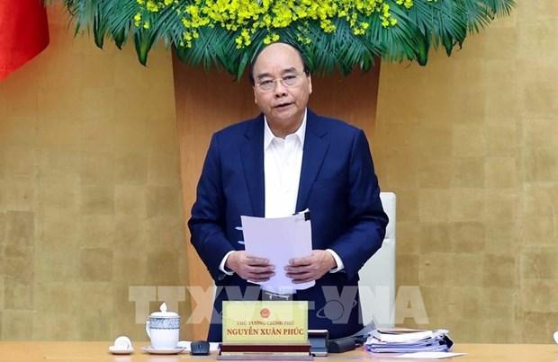 阮春福总理:努力将越南发展成为农业大国 hinh anh 1