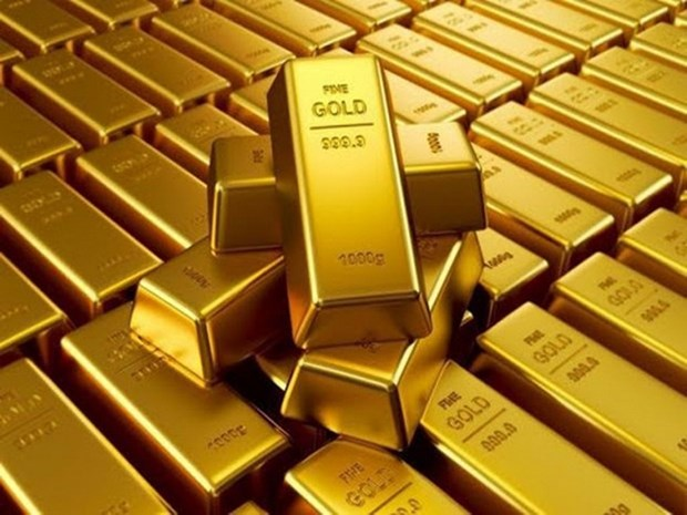 29日越南国内市场黄金价格每两下降10万越盾 hinh anh 1
