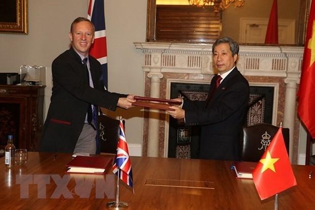 英国驻越南大使: UKVFTA是两国关系中的重要转折点 hinh anh 2