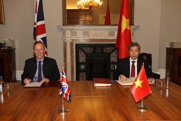 英国驻越南大使: UKVFTA是两国关系中的重要转折点 hinh anh 1