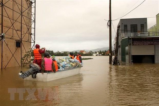 荷兰外交部向广南省受灾民众提供人道主义援助 hinh anh 1