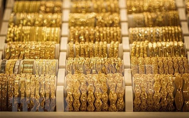 今日上午越南国内市场黄金价格每两接近5600万越盾 hinh anh 1