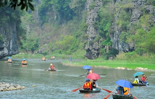2021国家旅游年:宁平省力争2021年接待游客700万人次 hinh anh 1