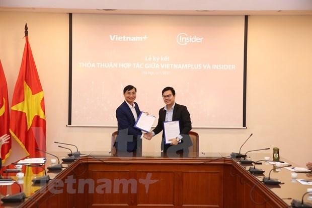 VietnamPlus与Insider合作促进报业数字化转型 hinh anh 1