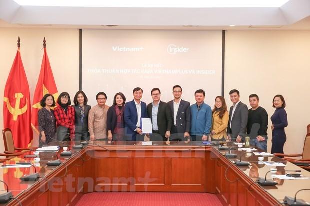 VietnamPlus与Insider合作促进报业数字化转型 hinh anh 3