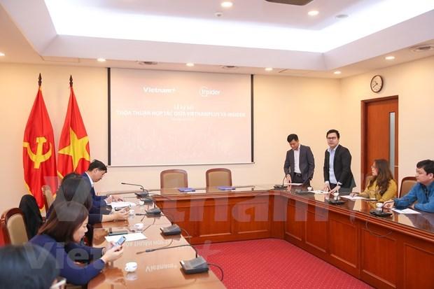 VietnamPlus与Insider合作促进报业数字化转型 hinh anh 2