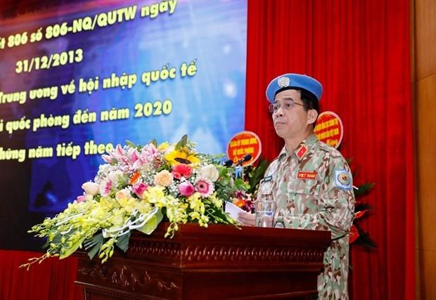 继续有效展开越南参加联合国维和行动总体提案 hinh anh 1