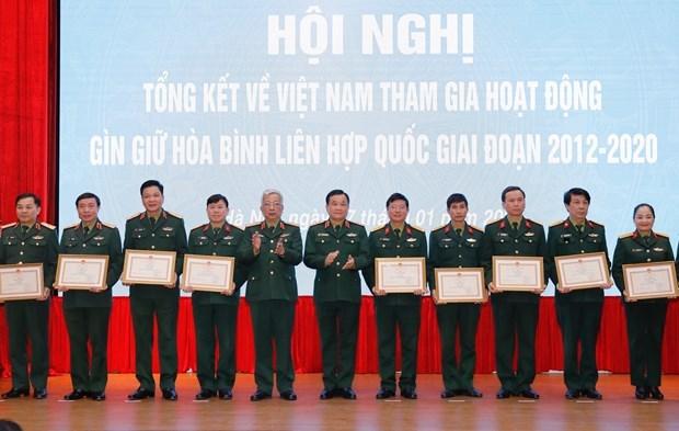继续有效展开越南参加联合国维和行动总体提案 hinh anh 2