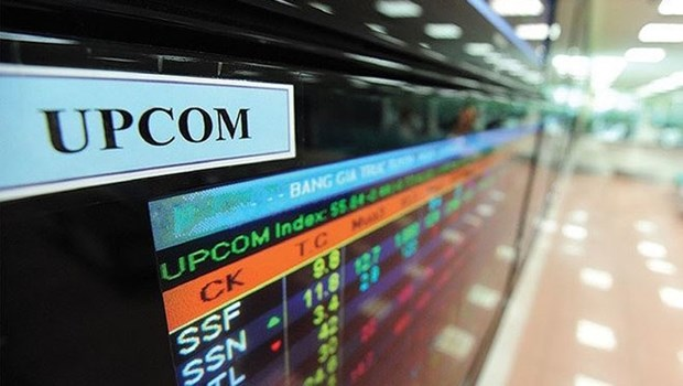 UPCoM上的成交额增长200% 境外投资者净买入1000亿越盾 hinh anh 1