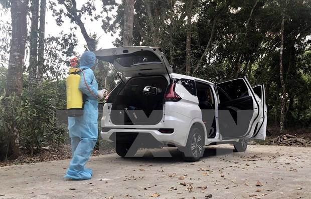 新冠肺炎疫情:载运第1440例的司机第二次新冠病毒检测结果呈阴性 hinh anh 1