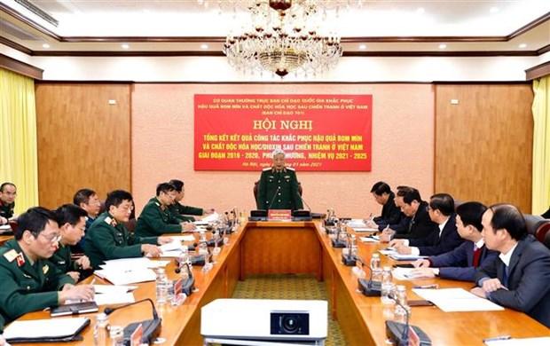 越南努力清除战争遗留的炸弹和化学毒剂 hinh anh 1