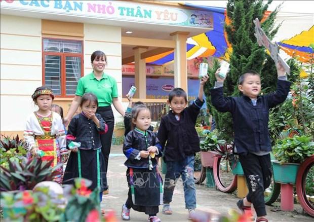 越南政府总理批准 2021-2030年阶段越南儿童国家行动计划 hinh anh 1