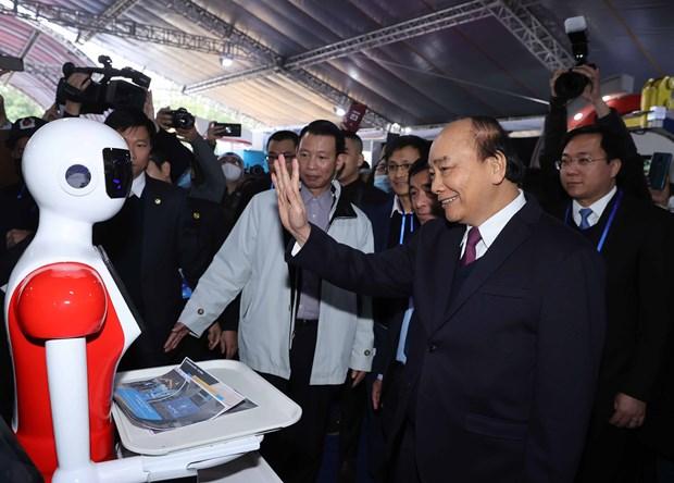 阮春福总理:充分发挥国家革新创新中心的重要作用 hinh anh 2
