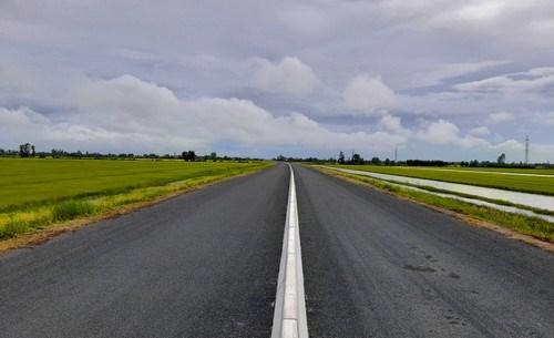 路得-迪水公路建设项目将于1月12日落成 hinh anh 1