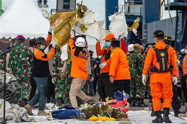 印尼客机坠毁事件:首个遇难者的身份和黑匣子位置确认 hinh anh 1
