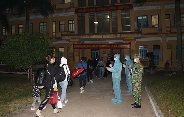 越南新增1例境外输入确诊病例新增8例治愈病例 hinh anh 1